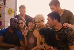 Atores de 'Sense8' em cena da segunda temporada Foto: Divulgação