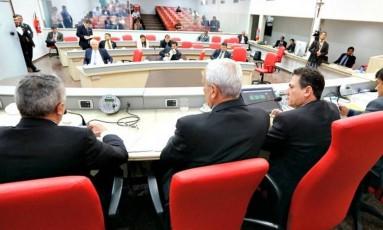 Deputados na Assembleia Legislativa de Rondônia Foto: José Hilde/Decom ALE-RO