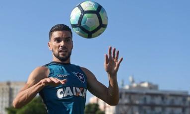 Pimpão não pode encarar o Flamengo na partida de volta da Copa do Brasil Foto: Vitor Silva/SSPress/Botafogo