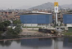 O Complexo da Maré, onde mais de 6 mil alunos estão sem aulas Foto: Márcia Foletto / Agência O Globo