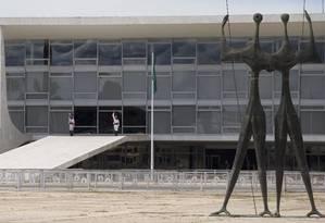 Fachada do Palácio do Planalto Foto: Jorge William / Agência O Globo 01/03/2017