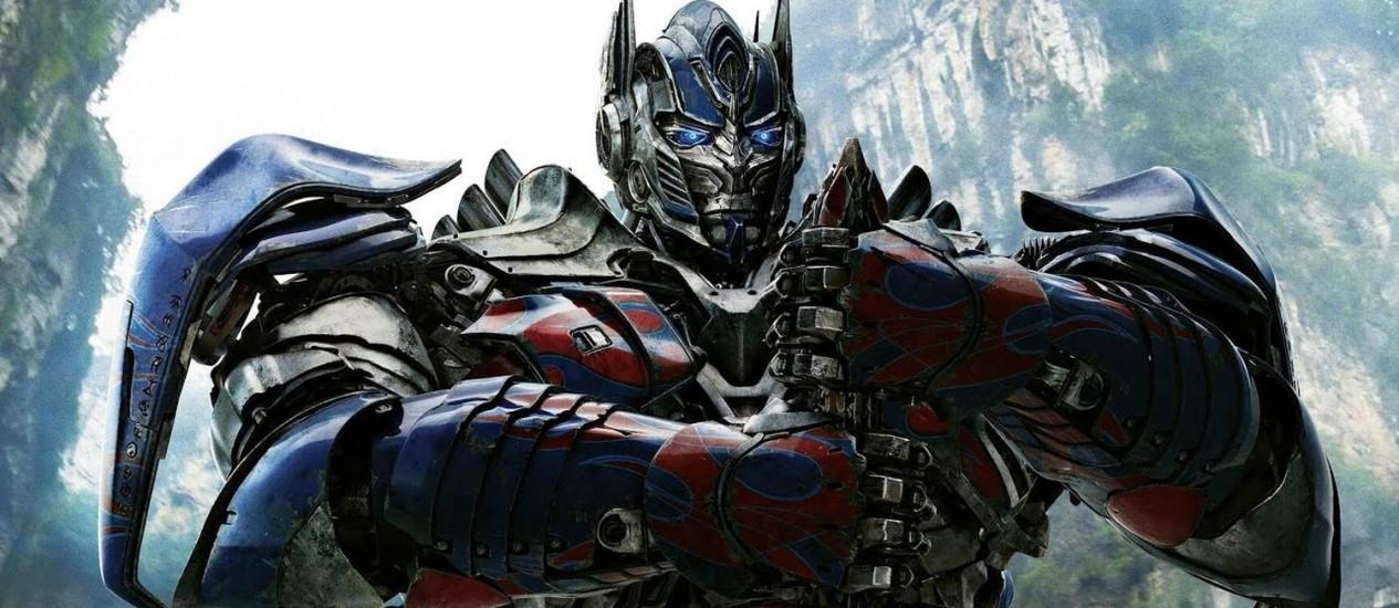 Cena de 'Transformers: o último cavaleiro' Foto: Divulgação