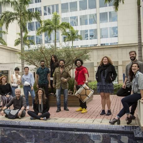 Organizadores e expositores do evento Integra, em parceria com O Cluster Foto: Analice Paron / Agência O Globo