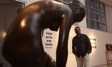 Leonardo Guelman, superintendente do Centro de Artes UFF, anuncia programação festiva e novos objetivos de aproximar o espaço do público Foto: Thiago Freitas / Agência O Globo