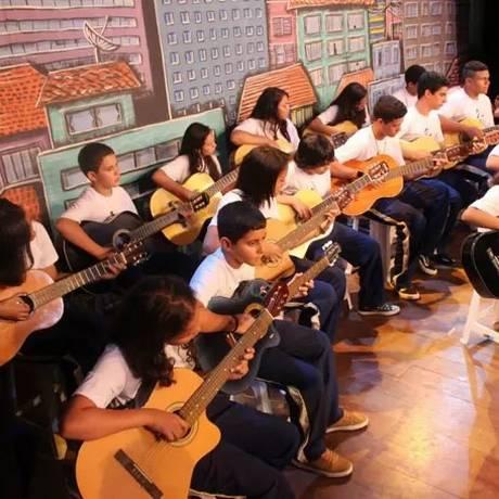 Projeto da Associação Fraternal Pelicano, uma das iniciativas apoiadas pelo Criança Esperança Foto: Divulgação
