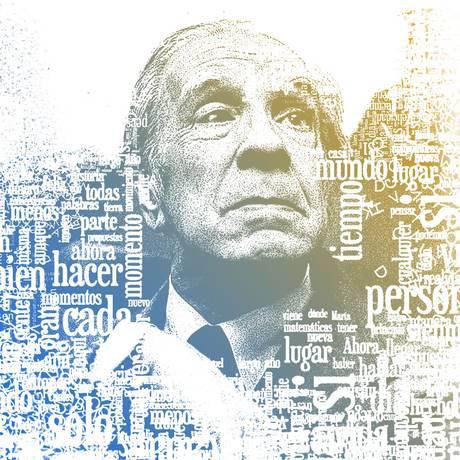 O universo do escritor argentino Jorge Luís Borges Foto: Editoria de Arte