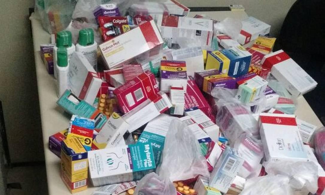 Cinco suspeitos são presos ao comercializar carga roubada de medicamentos