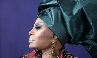 A cantora Elza Soares Foto: Stéphane Munnier / Divulgação