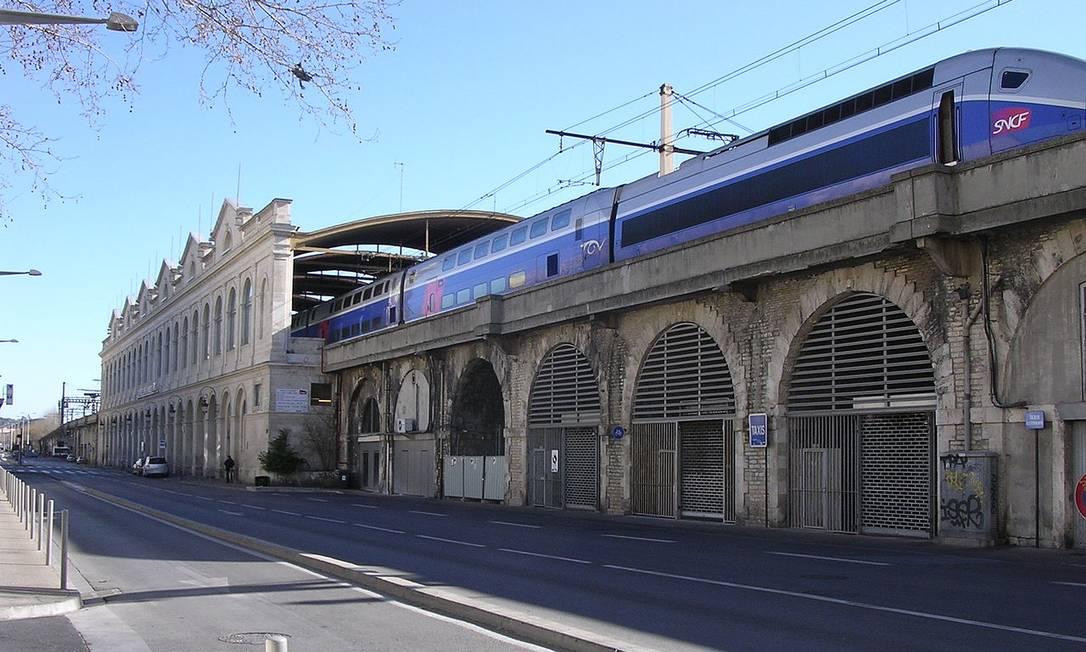 Estação de trem na França é esvaziada após relatos de tiroteio