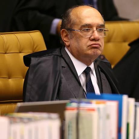 O ministro Gilmar Mendes soltou outros quatro presos na Operação Ponto Final Foto: Jorge William / Agência O Globo