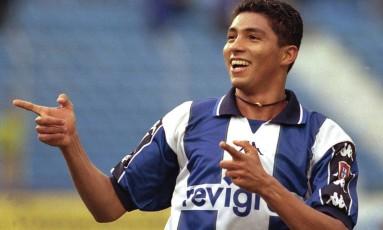 Jardel marcou 56 gols pelo Porto em 2000 Foto: Paulo Esteves/AP