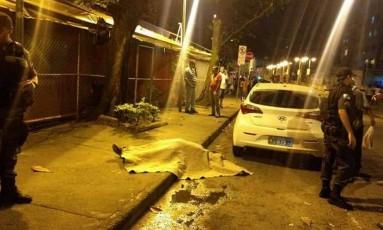 Suspeito morto após tentativa de assalto na Tijuca Foto: Reprodução