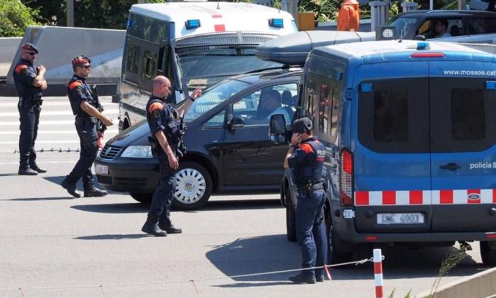 Terroristas da Catalunha estiverem em Paris antes dos ataques