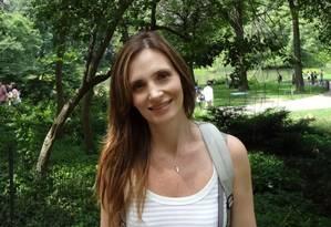 A juíza Claudia Zerati, de 46 anos, foi morta pelo marido no apartamento do casal, em Perdizes, Zona Oeste de São Paulo Foto: Reprodução
