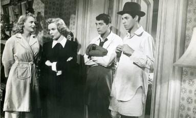 """Com """"A amiga da onça"""" (1949), o ator deu início à parceria com Dean Martin Foto: Reprodução"""
