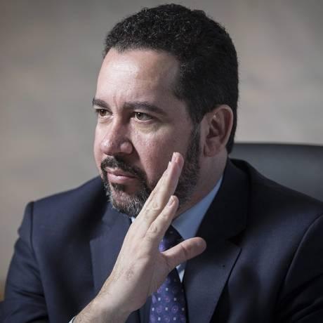 Ministro do Planejamento, Orçamento e Gestão, Dyogo Oliveira Foto: André Coelho / Agência O Globo