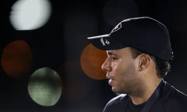 O técnico do Botafogo, Jair Ventura Foto: Vitor Silva/SSPress