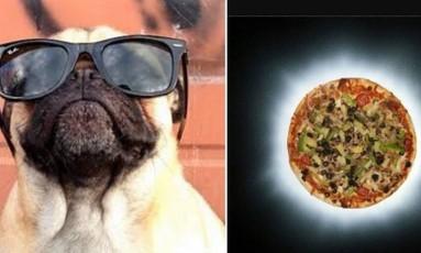 O tipo de eclipse que muitas pessoas gostariam de ver Foto: Reprodução/ Twitter