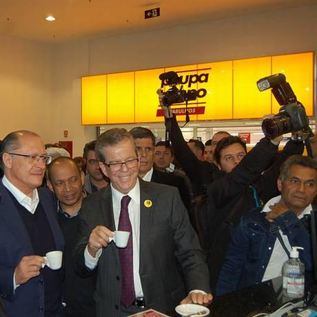 Alckmin defende Tasso no comando do PSDB e programa crítico a Temer Foto: Divulgação