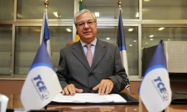 O ex-presidente do Tribunal de Contas do Estado (TCE-RJ), Jonas Lopes de Carvalho Junior Foto: Urbano Erbiste / Agencia O Globo / 9-7-2013