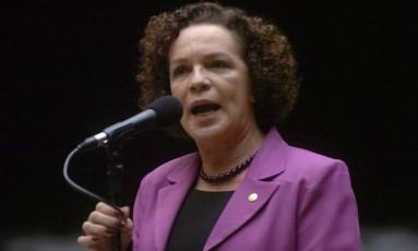Fátima Pelaes, secretária de Política para as Mulheres Foto: Agência Câmara
