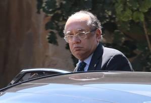 O ministro do Supremo Tribunal Federal (STF), Gilmar Mendes Foto: Jorge William / Agência O Globo/16-08-2017