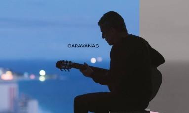 Capa de 'Caravanas', de Chico Buarque Foto: Divulgação