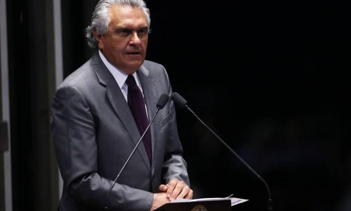 Senador Ronaldo Caiado, no Senado (foto de 2016) Foto: Jorge William / Agência O Globo