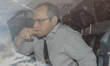 O doleiro Lucio Bolonha Funaro fechou acordo de delação premiada com o MPF Foto: André Coelho / Agência O Globo 17/07/2017