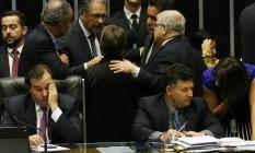 Plenário da Câmara discute a reforma política Foto: Givaldo Barbosa / Agência O Globo