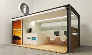 Novos quiosques da Riotur terão acesso à internet para turistas Foto: Divulgação / Riotur