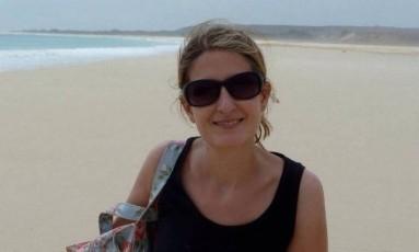Turista inglesa foi baleada na região de Angra dos Reis, no início deste mês Foto: Reprodução