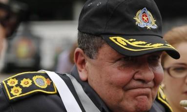 O comandante-geral da Polícia Militar, coronel Wolney Dias Foto: Gabriel de Paiva - 25/10/2016 / Agência O Globo