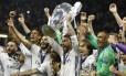 O Real Madrid busca o tricampeonato da Liga dos Campeões Foto: Carl Recine / Reuters