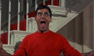 Lewis em 'O terror das mulheres', filme de 1961 Foto: Reprodução