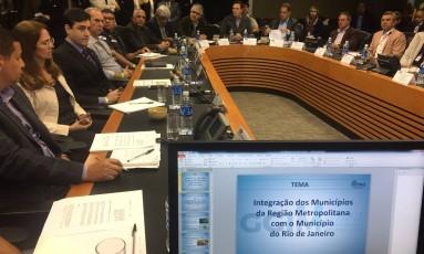 Crivella se reúne com prefeitos da Região Metropolitana Foto: Divulgação