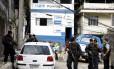 Policiais das UPPs da Formiga, Turano e Salgueiro Foto: Pablo Jacob / O Globo