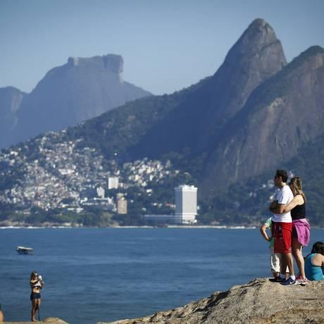 Arpoador, Rio de Janeiro Foto: Pablo Jacob / Agência O Globo