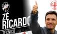 Vasco anuncia Zé Ricardo Foto: Reprodução