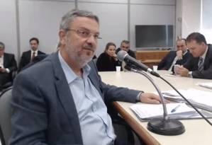 O ex-ministro Antonio Palocci foi condenado na Lava-Jato por intermediar pagamentos de US$ 10 milhões da Odebrecht Foto: Reprodução