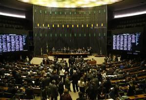 Câmara dos Deputados analisa reforma política Foto: Ailton de Freitas / Agência O Globo