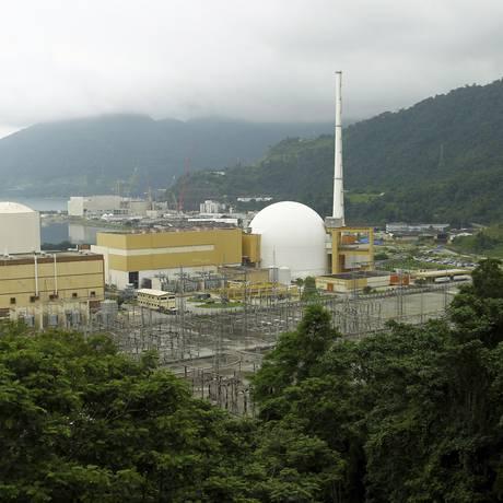 Usina nuclear de Angra 3 Foto: Gabriel de Paiva/Agência O Globo;12-11-2015