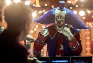 O ator Vladimir Brichta no filme 'Bingo: O rei das manhãs' Foto: Divulgação