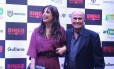 Emanuelle Araújo e Arlindo Barreto na pré-estreia de 'Bingo – O rei das manhãs'