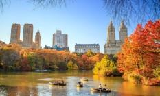 Central Park durante o outono Foto: Creative Commons/Anthony Quintano