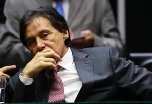 Presidente do Senad, Eunício Oliveira, defende financiamento de campanha com verbas já existentes Foto: Jorge William / Agência O Globo