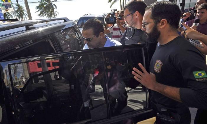 Prisão de Henrique Eduardo Alves, ex-ministro e deputado federal, pela operaçãoo Lava-Jato. 06/06/2017 Foto: Parceiro / Agência O Globo