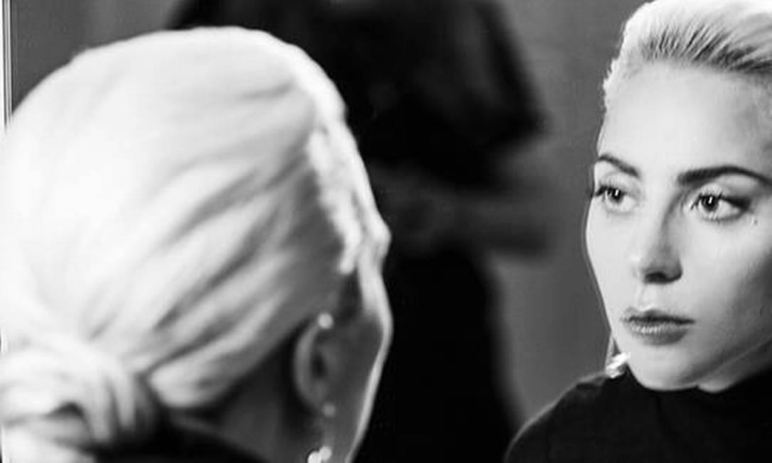 Lady Gaga foi garota propaganda da coleção Tiffany Hardwear Foto: / Reprodução