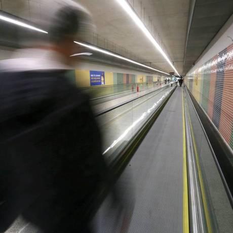 Estação Jardim Oceânico da Linha 4 do Metrô Foto: Custódio Coimbra