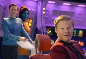 Cena do episódio 'USS Callister', da quarta temporada de 'Black mirror' Foto: Reprodução